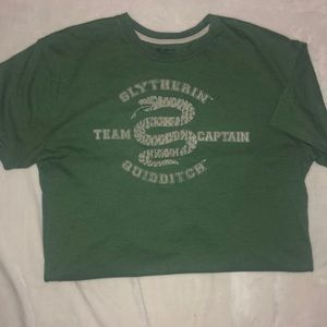 Harry Potter Slytherin Quidditch Graphic Tee Large